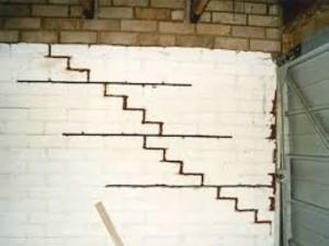 Herstellen muurscheuren
